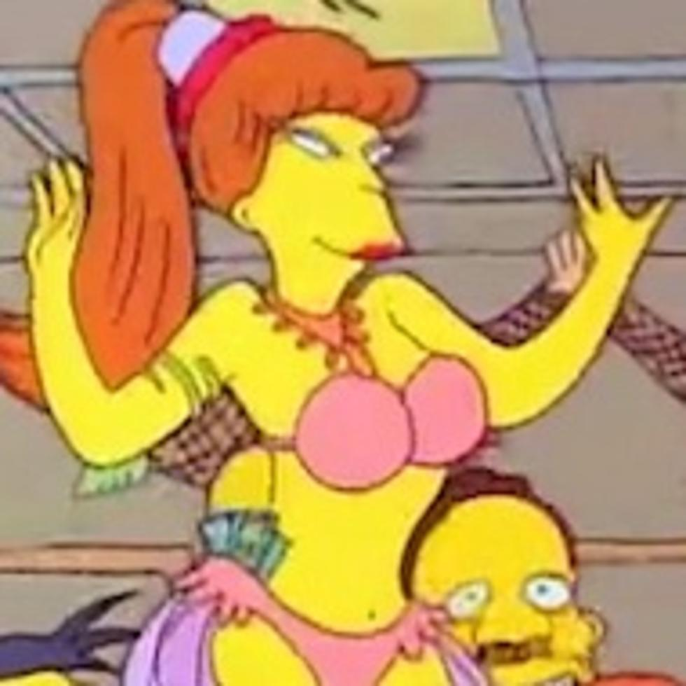 The simpsons sexest naked women