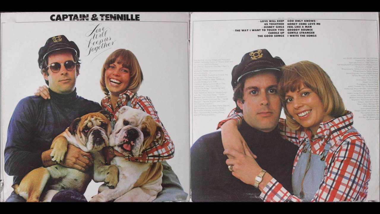 Youtube captain and tennille love will keep