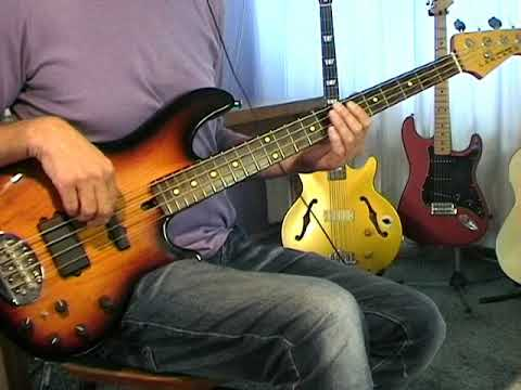 Elvis bass cover