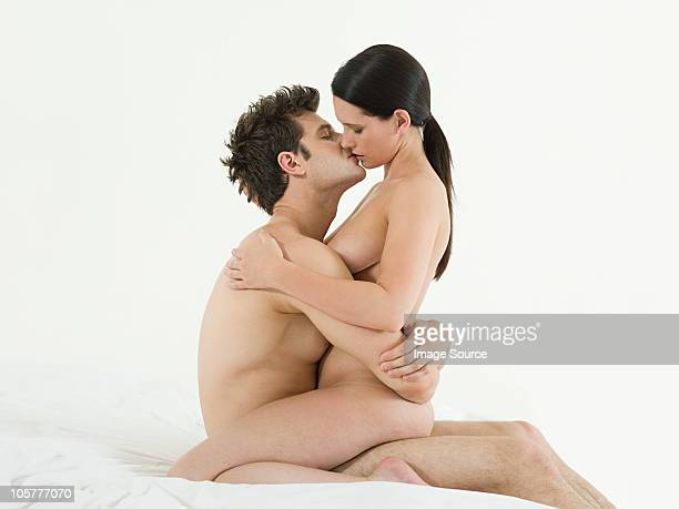 Nice couple in naked position